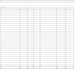 Monthly Bill Organizer Chart