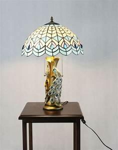 Tiffany Night Stand Lamp Tiffany Tabletop Light Fixture