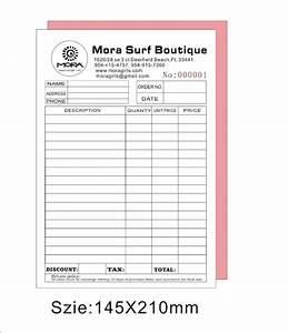 Personalized invoice books invoice template ideas for Personalised invoice books cheap