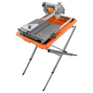 rigid 7 tile saw stand 7 in site tile saw with laser ridgid professional tools