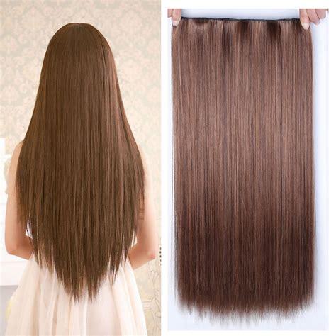 Buy Allaosify 60cm 5 Clip In Hair