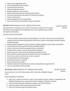 computer help desk job description With job resume help