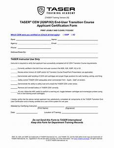 X26p And X2 Transition Cert Form  V20