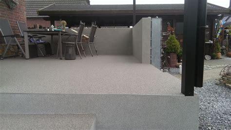 Terrasse Fliesen Alternative by Steinteppich Terrasse Steinteppich In Nrw