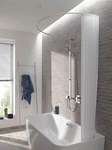 Duschvorhangstange Für Badewanne : duschvorhangstange halbrund dr700hd bad ~ Watch28wear.com Haus und Dekorationen