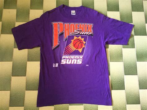 Vintage NBA Phoenix Suns T-Shirt USA Basketball Tee Shirt ...