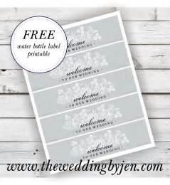 water bottle labels for wedding free downloadable wedding water bottle labels new calendar template site