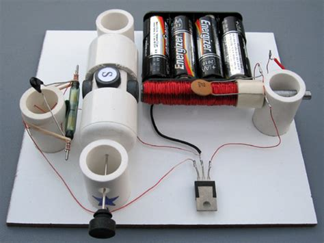 Electric Motor Experiment by Reed Switch Motor With Transistor Simple Electric Motors