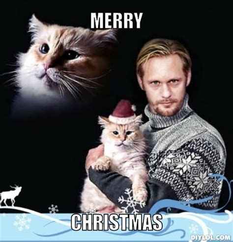 Merry Christmas Meme Generator - meme monday vire eric with a cat in a christmas hat the collective