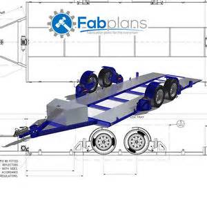 Flat Deck Gooseneck Trailers by Airbag Car Trailer Plans Diy Build Your Own Lowering Race