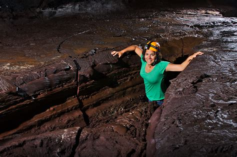 Cavers in caves - Kenneth Ingham Photography