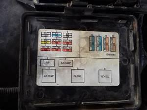 1996 Pontiac Firebird Fuse Box