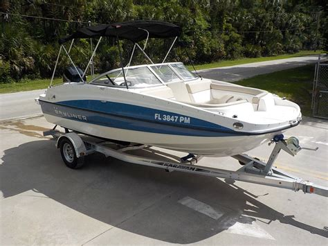 Bayliner 190 Deck Boat 150 Hp Bayliner 190 Deck Boat Series Bow Rider Family Pleasure Boat 83 Pictures Boat For Sale From Usa