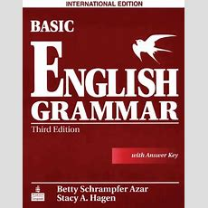 Basic English Grammar Betty Schrampfer Azar English Course Book Review By Language Trainers