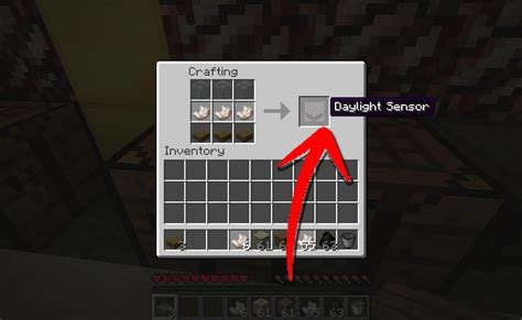 Redstone Ls With Daylight Sensor how to make a daylight sensor in minecraft 7 steps