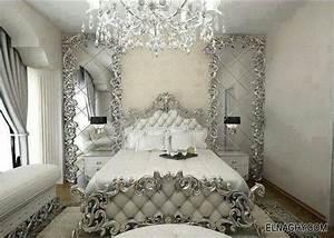 Chambre blanc argenté Luxury Master Bedrooms Big