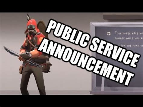 Public Service Announcement V2 Youtube