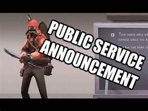 Public Service Announcement V2 - YouTube