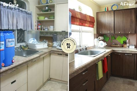 kitchen design philippines rl makeovers an updated look for a kitchen in quezon city 1303