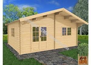 Chalet Bois Kit : chalet en bois en kit mod le genevier 30 m2 direct usine ~ Carolinahurricanesstore.com Idées de Décoration