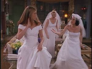 the girls of friends images ladies of friends 4x20 tow With friends wedding dress