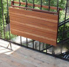 fabriquer une armoire murale et table rabattable balcon