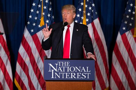 Foreign Policy Speech Trump