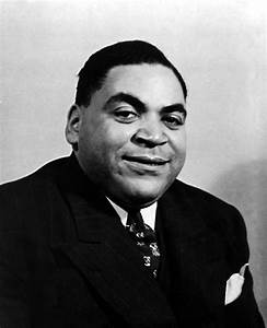 Fats Waller, Real Name Thomas, Ca. 1930s by Everett