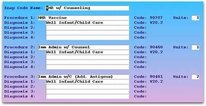 Codes Administration Snap Immunization Vaccine Mmr Office