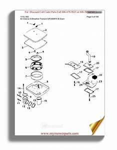 31 Cub Cadet Original Parts Diagram