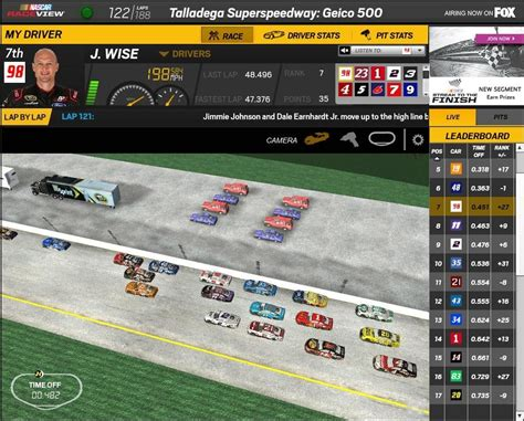 Josh Wise is racing in Talladega today at 1:20pm ET on FOX ...