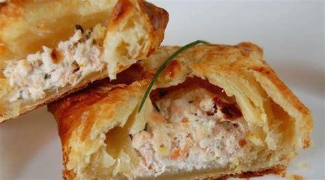 recette feuillet 233 au saumon et fromage de ch 232 vre fromage