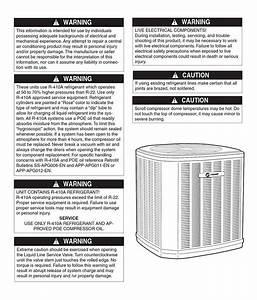 Trane Xb13 Air Conditioner Installation Manual
