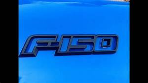 How To Color Accent Your Ford F150 Emblems