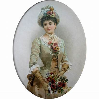 Lady Roses Antique Flowers Victorian Hat
