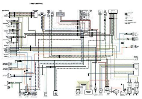 cb650 1983 honda wiring diagram wiring diagram and schematics