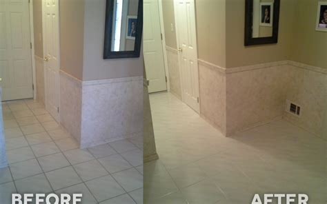 steam cleaning grout alone vs color sealing grout in