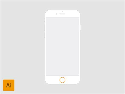 iphone 4 7 iphone 6 4 7 vector for wireframes by fedza miralem