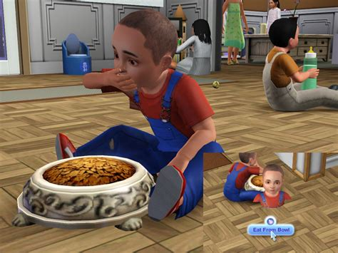 cuisine sims 3 mod the sims updated 11 01 toddler interactions