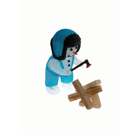 eclairage cuisine spot encastrable bonhomme de neige bucheron bleu jta016 achat vente