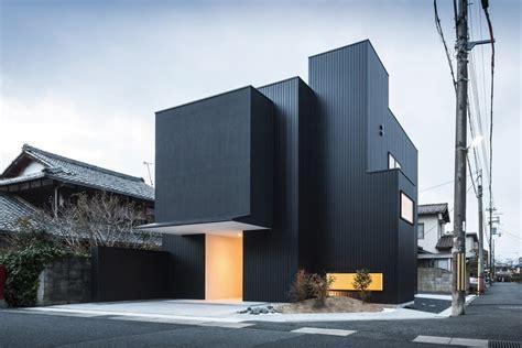 Distinct Black&white Exterior Showcased By Minimalist