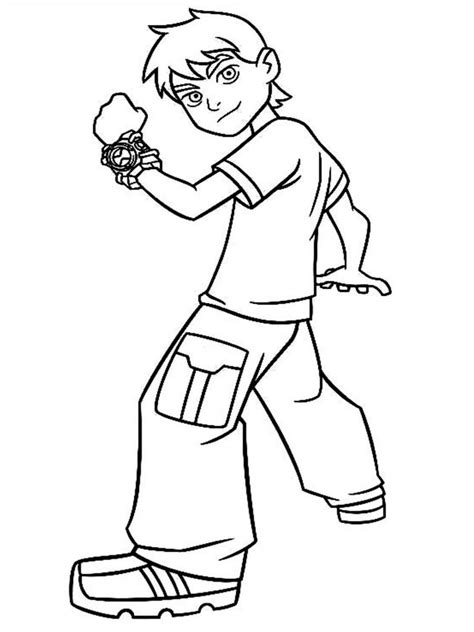 Coloring Pictures by Free Printable Ben 10 Coloring Pages For