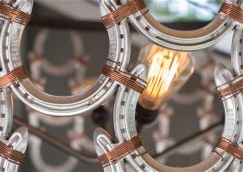 Horseshoe Chandelier by Horseshoe Chandelier R Mended Metals Llc