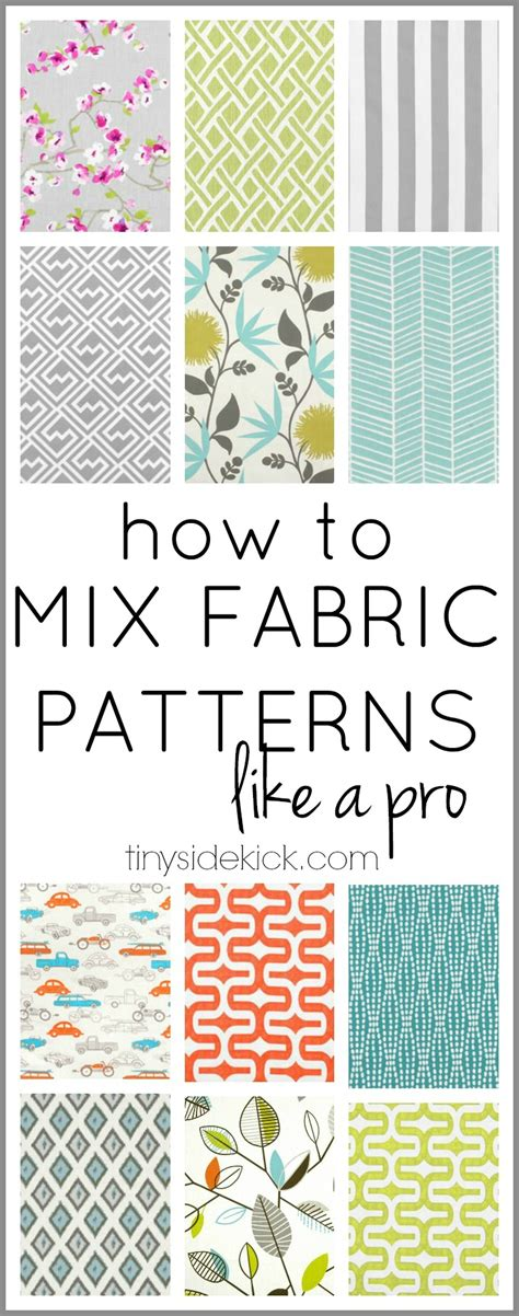 how to print a design on fabric how to mix fabric patterns like a pro