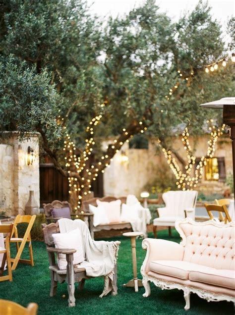 Backyard Garden Wedding - decor ideas for a backyard wedding reception decor ideas