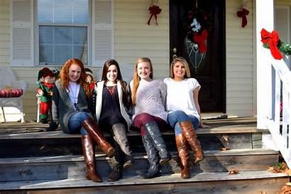 Selfie Teen Pretty Friends Teenager Fun Boots