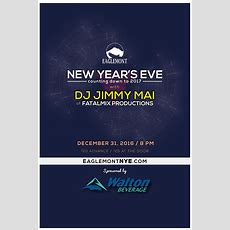 New Year's Eve Counting Down To 2017 With Dj Jimmy Mai Of Fatalmix Productions Tickets In Mount