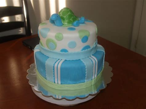turtle decorations for cakes sea turtle baby shower cake i made everything is made out