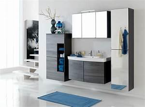 Waschtisch Set Mit Spiegelschrank : badm bel set florida mit waschtisch und spiegelschrank 6 teilig 205 cm breit eiche ~ Bigdaddyawards.com Haus und Dekorationen