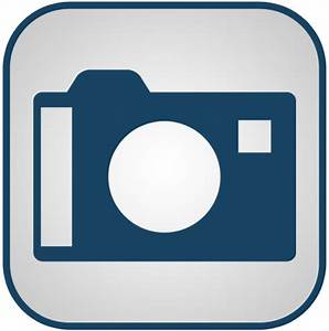 Blue And White Camera Icon, PNG ClipArt Image - ClipArt ...